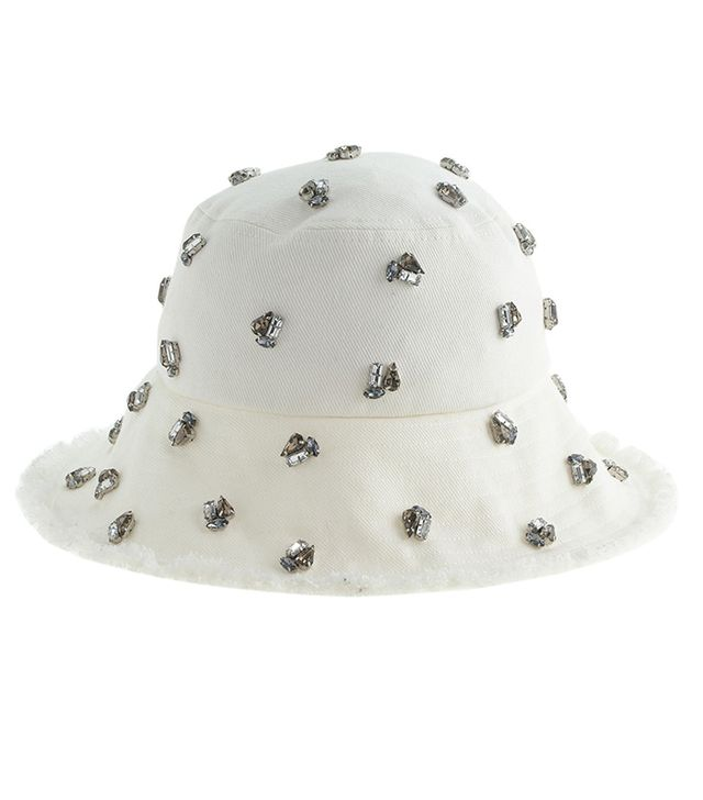 J. Crew Embellished Bucket Hat