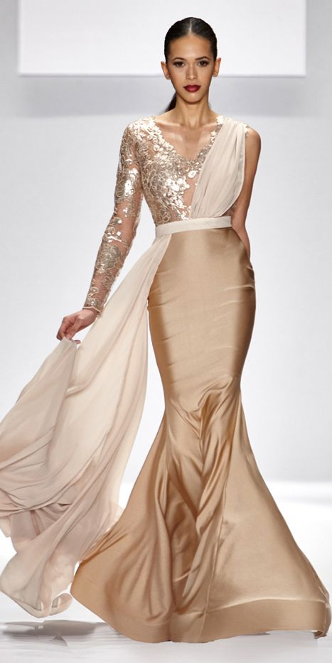 Walter Mendez Yvonna Gown
