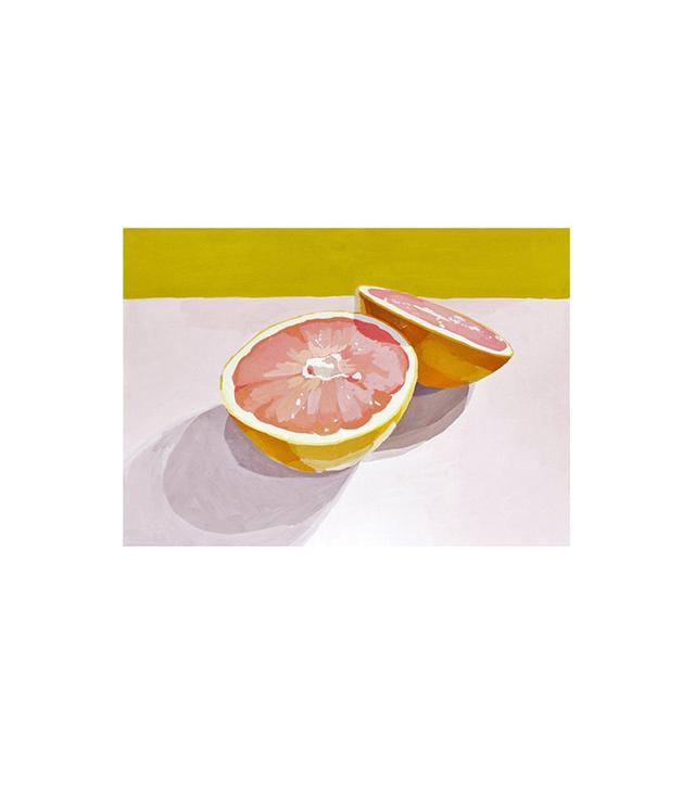 """Grapefruit Print"" by Elizabeth Mayville"