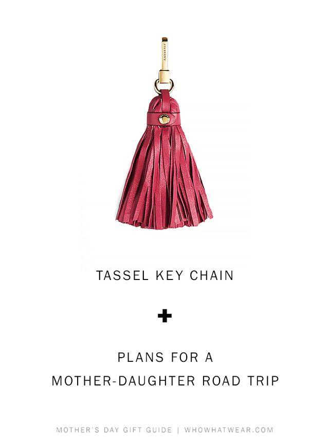 Burberry Leather Tassel Key Charm