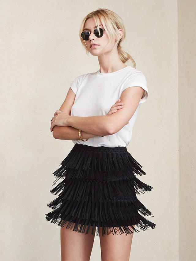 Reformation Llama Skirt