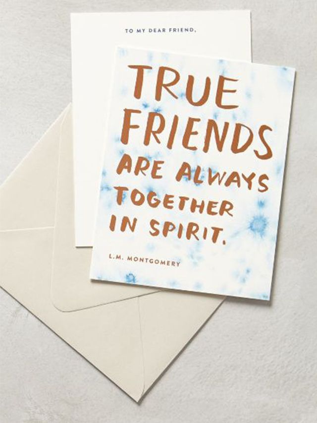 Sycamore Street Press True Friends Card