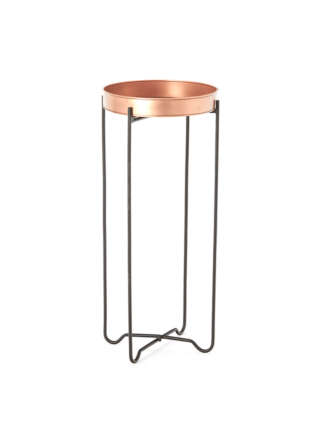 Terrain Copper Tray Table