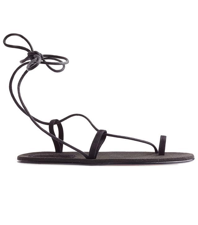 Chloé Fawne Suede Sandals