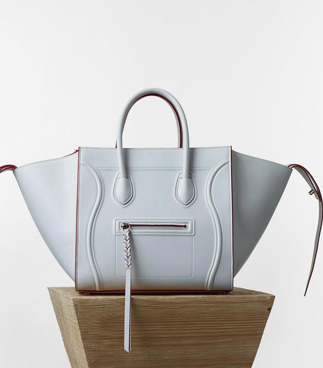 Céline Medium Luggage Phantom Handbag