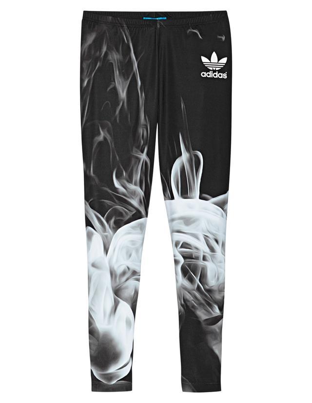 Rita Ora x Adidas White Smoke Leggings