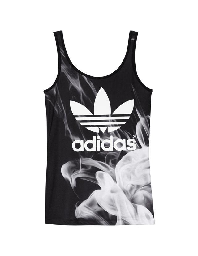 Rita Ora x Adidas White Smoke Tank Top