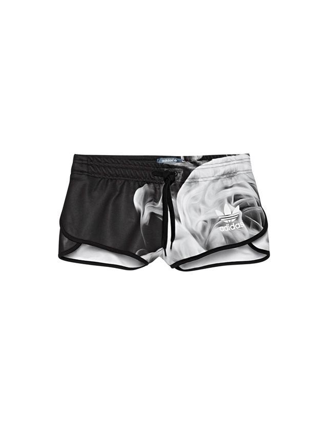 Rita Ora x Adidas White Smoke Shorts