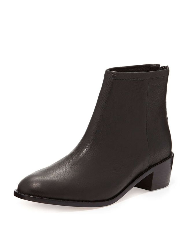 Loeffler Randall Felix Leather Ankle Boots