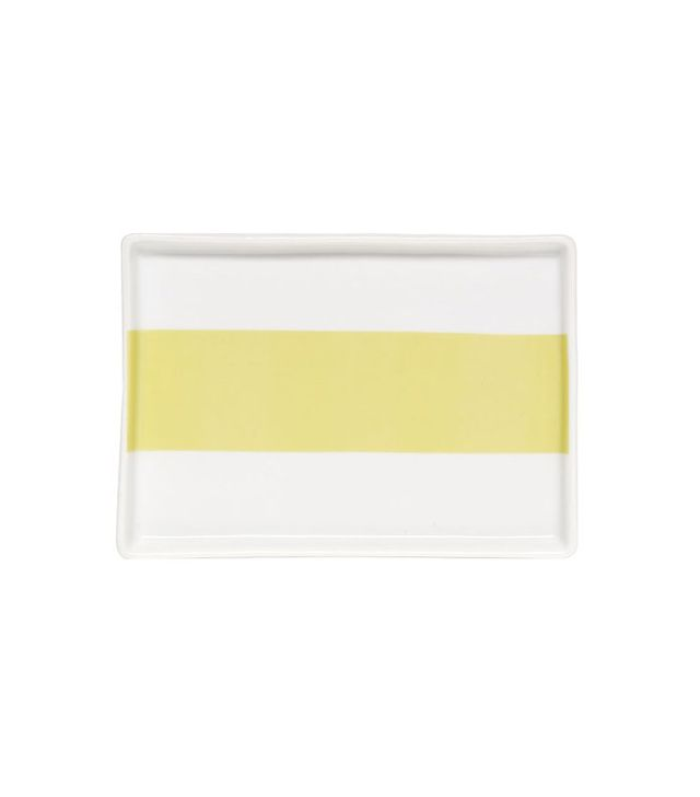 West Elm Porcelain Stripe Tray