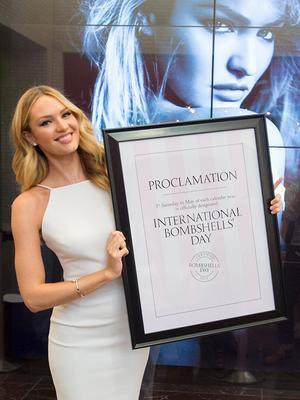 Victoria's Secret Creates International Bombshell's Day