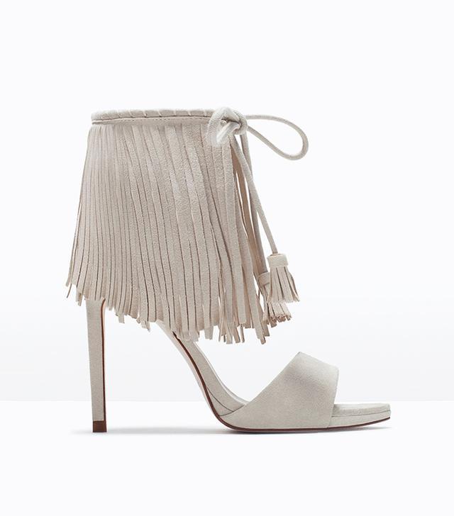 Zara Fringed Sandals
