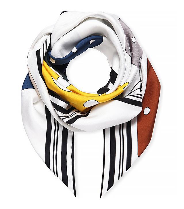 Loewe Meccano Silk Scarf