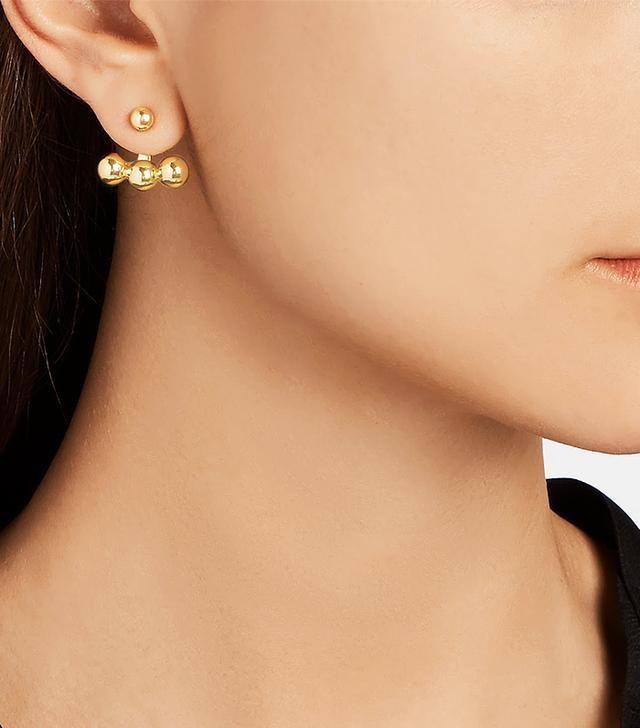 Arme De L'Amour Sphere Anchor Earrings