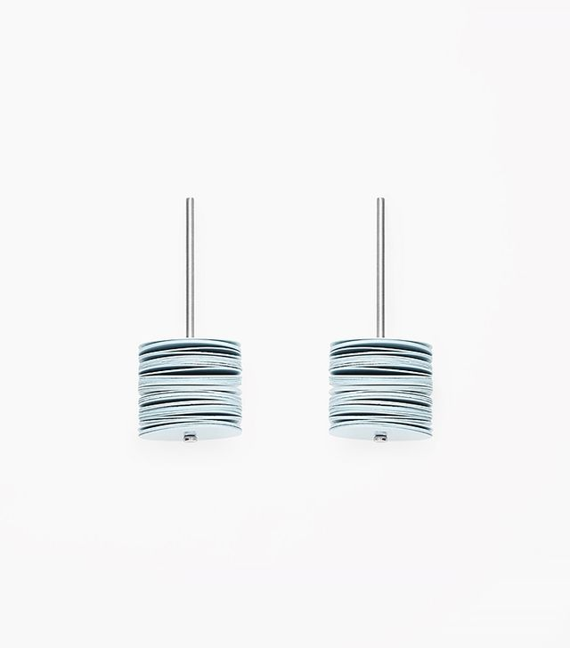 COS Colored Disk Earrings