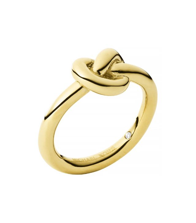 Michael Kors Gold-Tone Knot Ring