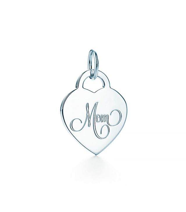 Tiffany & Co. Mum Heart Tag Charm