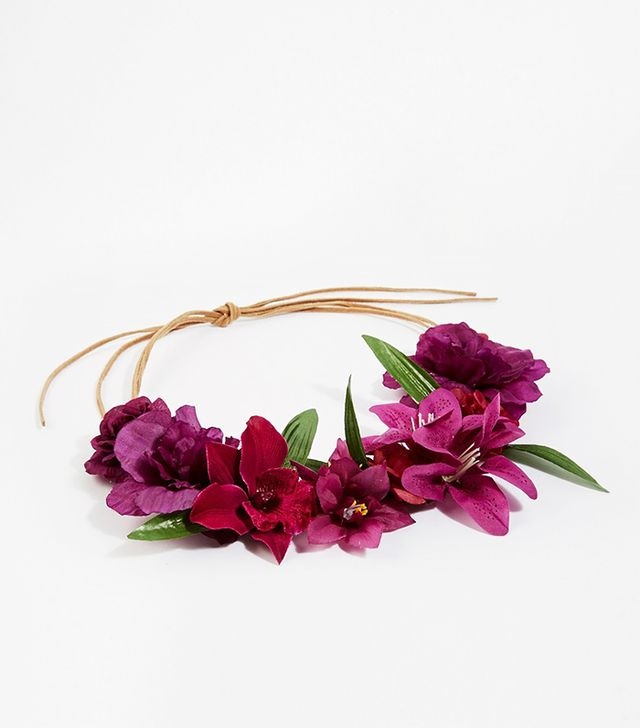 ASOS Dark Floral Hair Garland