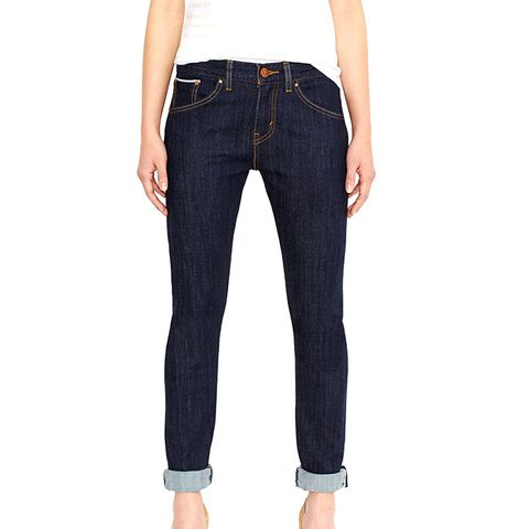 Boyfriend Skinny Selvedge Jeans