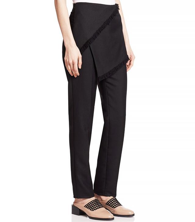 3.1 Phillip Lim Wool Wrap-Skirted Pants