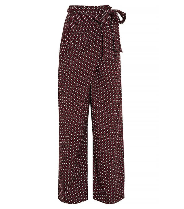 Marni Printed Wrap Pants