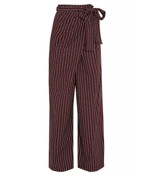 Marni Printed Wrap Pants