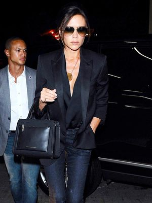 The Victoria Beckham–Approved Way to Dress Down a Blazer