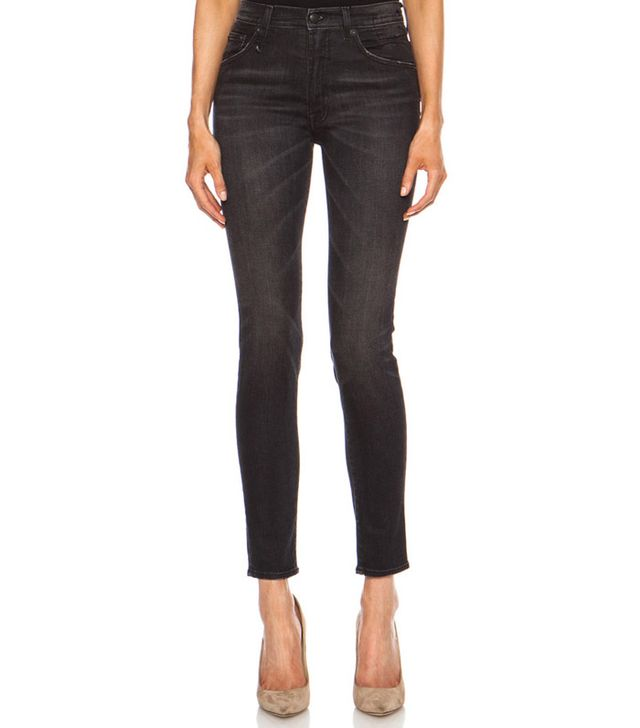 R13,Victoria Beckham High Rise Skinny Jeans