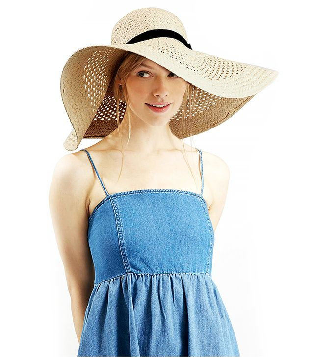 Topshop Lattice Floppy Hat