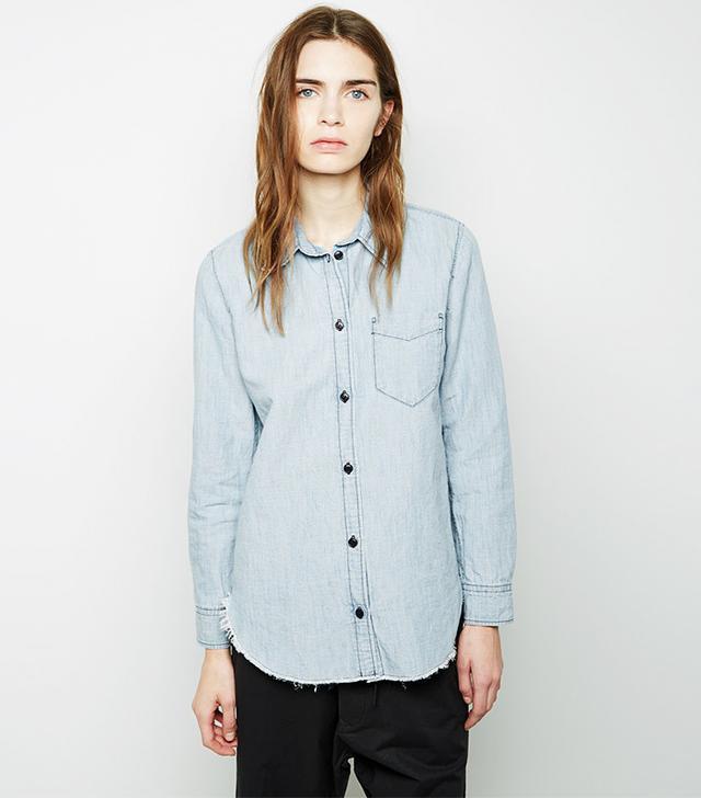 Isabel Marant Etoile Sade Chambray Shirt
