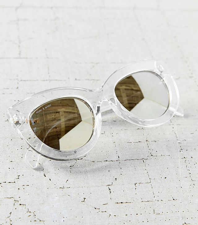 Quay X Shay Mitchell Jinx Cat-Eye Sunglasses