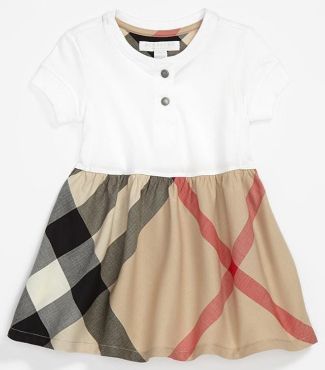Burberry Knit Top Dress