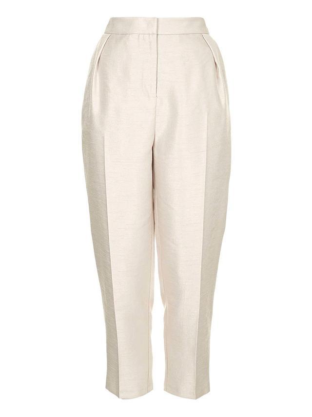 Topshop Premium Dupion Trousers