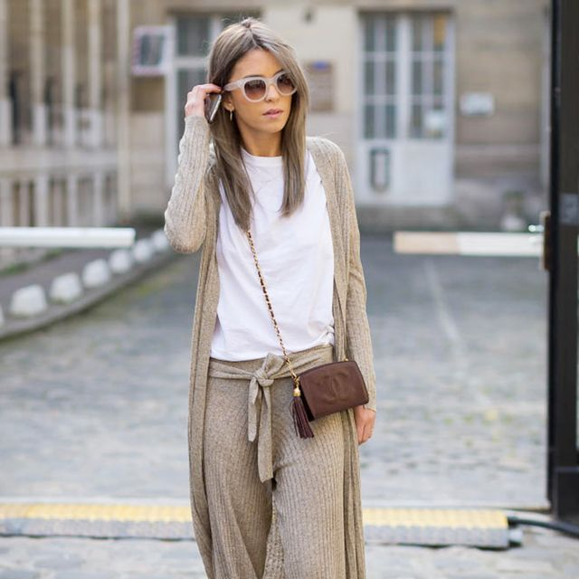 How to Pull Off the Head-to-Toe Knit Look