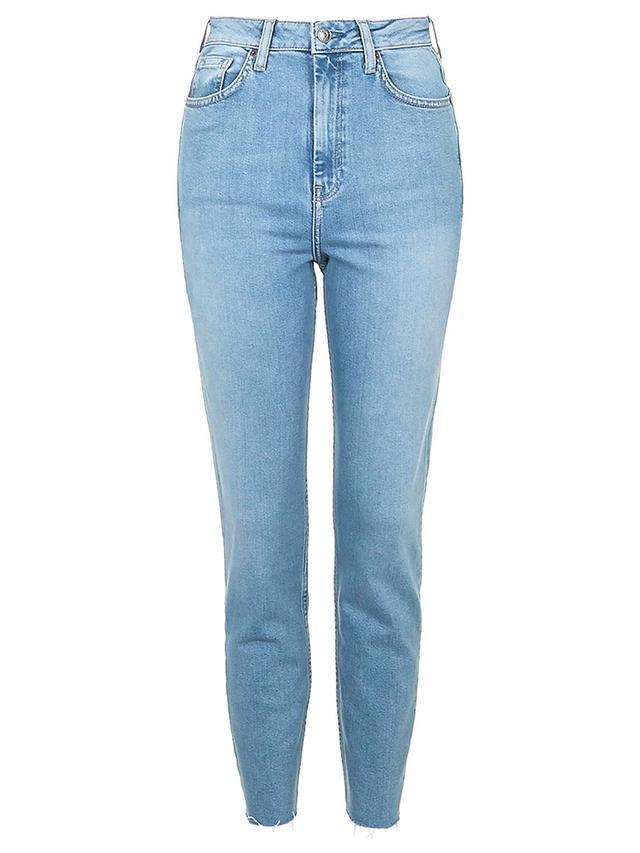Topshop Moto Pale Blue Binx Jeans