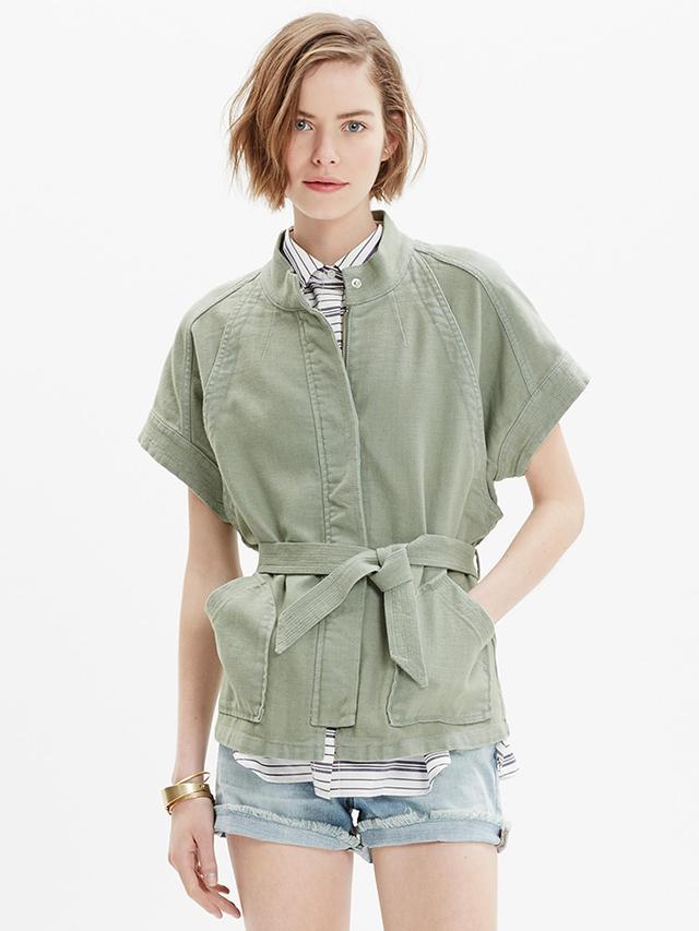 Madewell Short-Sleeve Hilltop Jacket