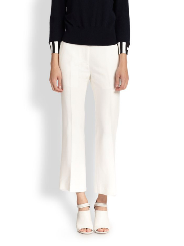 3.1 Phillip Lim Flared Cropped Pants