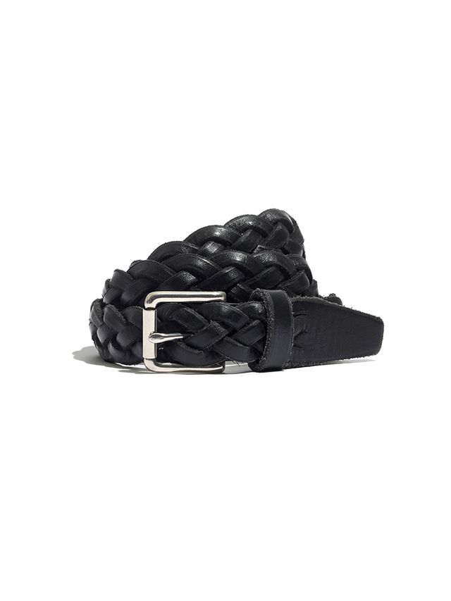 Madewell Leather Braided Belt