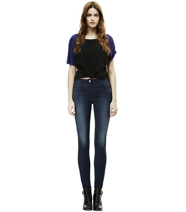 3x1 High Rise Skinny Channel Jeans