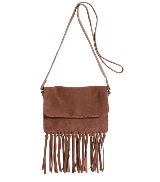 H&M Suede Shoulder Bag