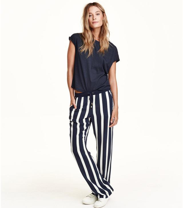 H&M Wide-Let Pants