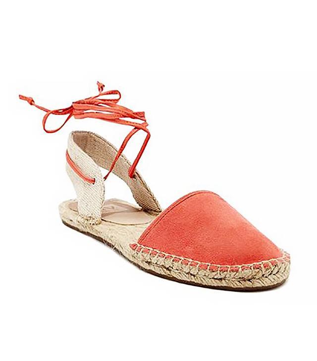 Dolce Vita Tysin Espadrille Sandal in Coral