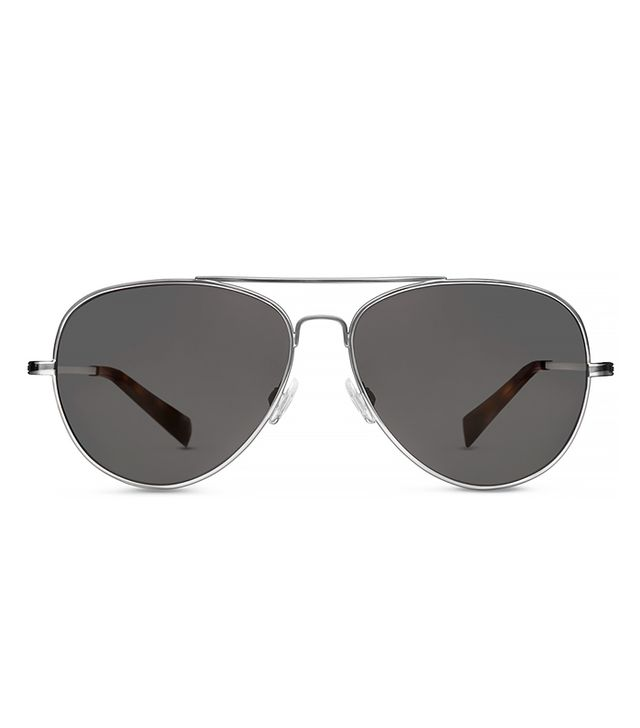 Warby Parker Dempsey Sunglasses in Jet Silver