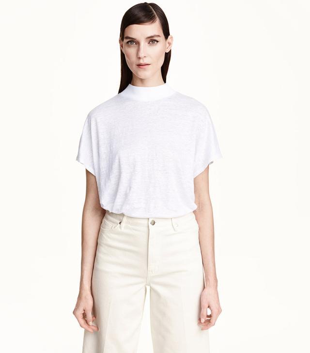 H&M Linen Top