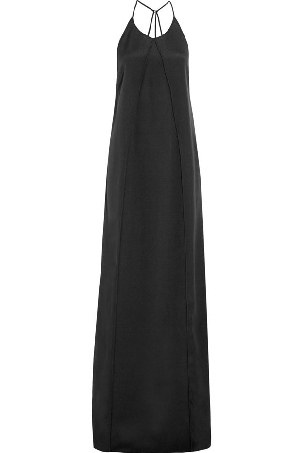 Calvin Klein Collection Bianca Silk-Cady Gown
