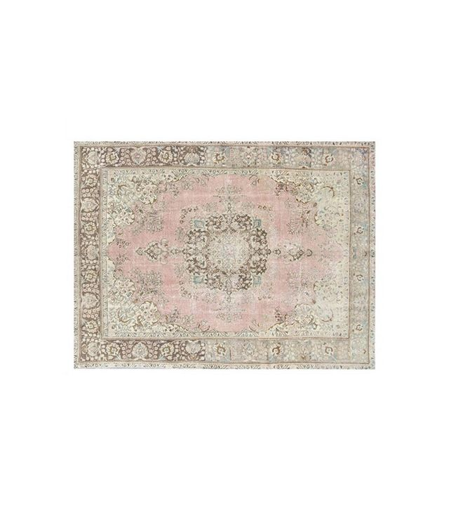 Retro Rugs Vintage Natural Stone-Washed Handmade Carpet.