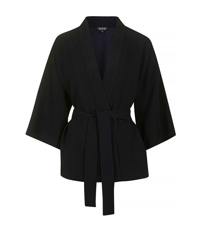 Topshop Belted Kimino Jacket