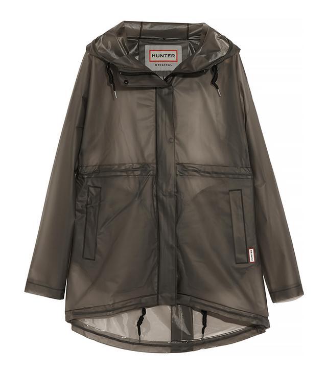 Hunter Original Clear Smock Rubber Hooded Jacket
