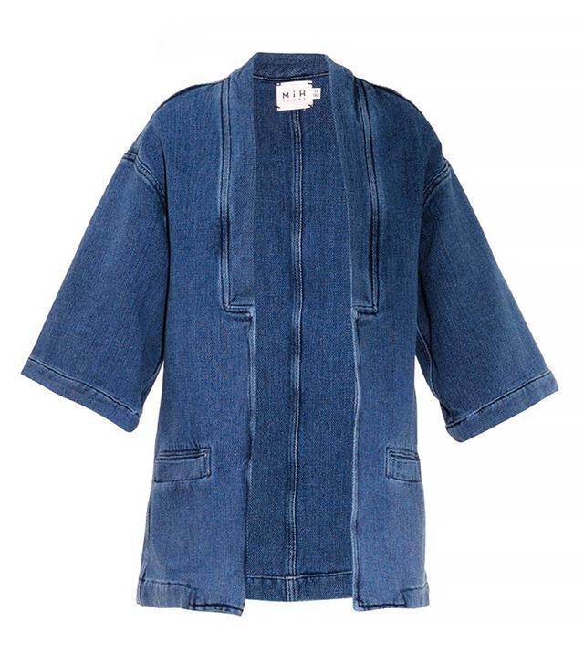 MiH Jeans Denim Kimono Jacket
