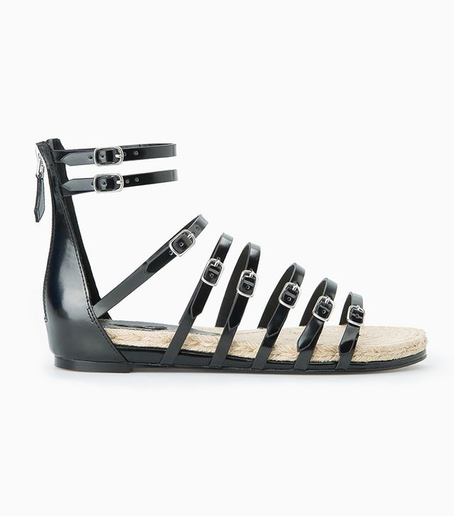 Mango Esparto Gladiator Sandals